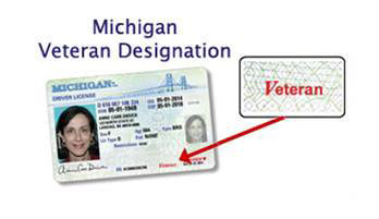 Michigan Veteran Designation for Licenses and ID cards